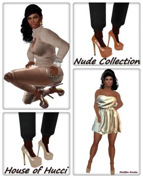 Hucci Nude Pump Collection