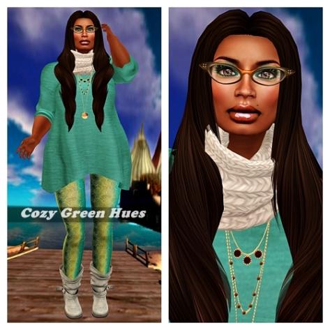 Cozy Green Hues