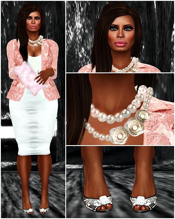 Pink Lace Lady