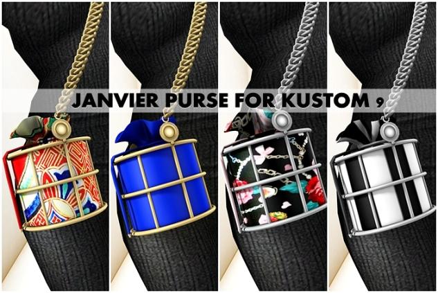 JANVIER PURSE FOR KUSTOM 9