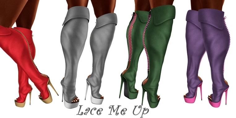 BDR lace me up