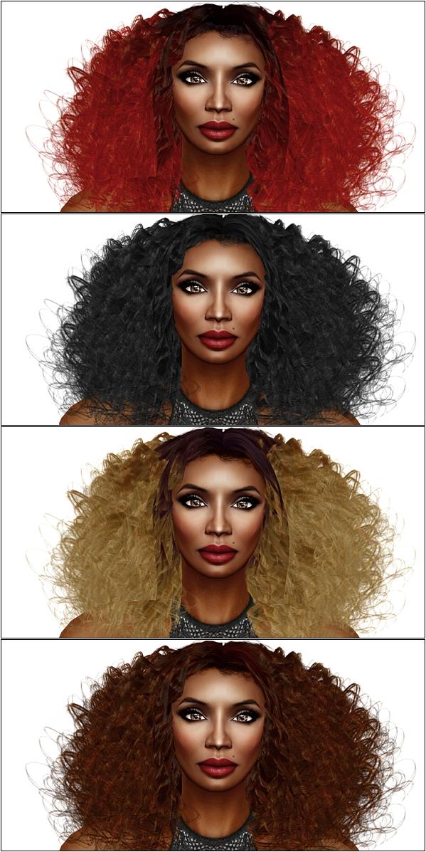 Hair fair- iconic, infinity