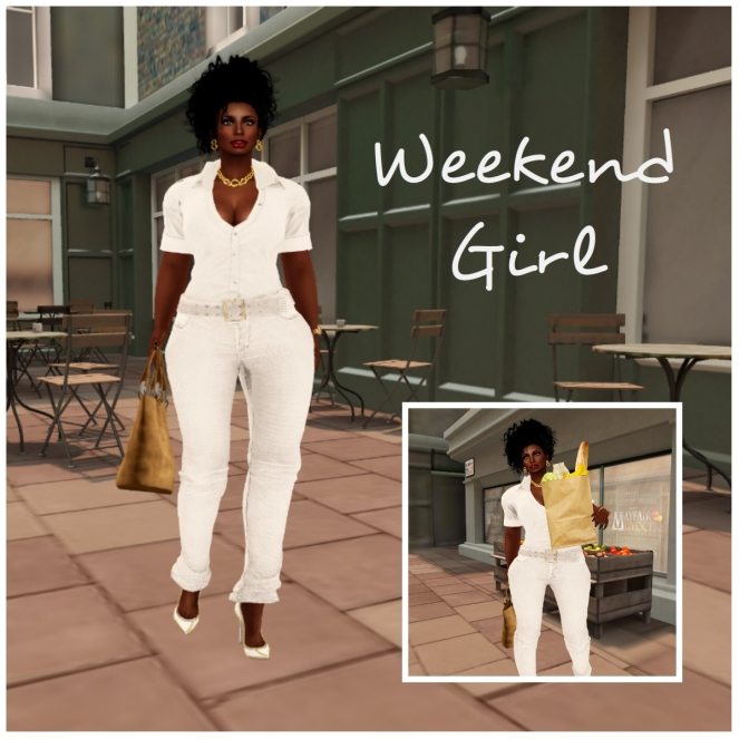 weekend collage