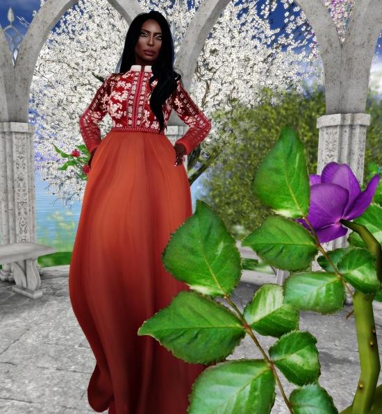 Deeses in bloom