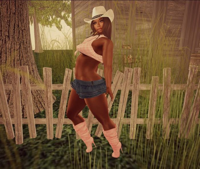 pink cowgirl b