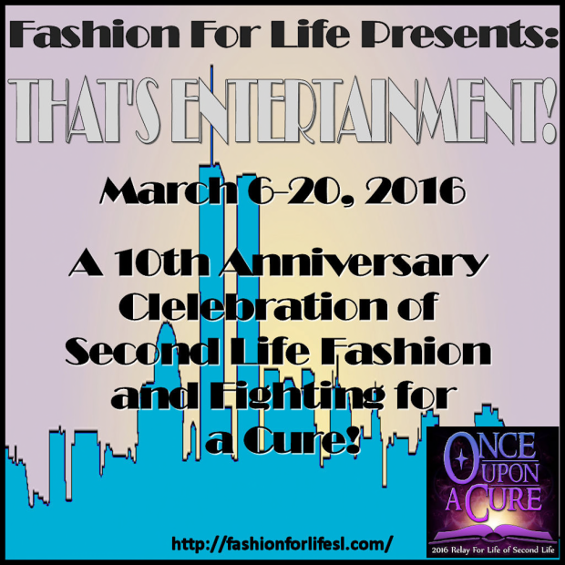 Fashion for life 2016 - Second Life