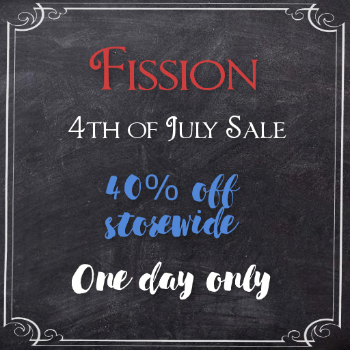 4th of July sale sign